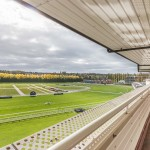 Newbury Racecourse - view of the course from the stands