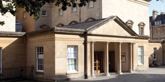 Unusual meeting spaces: Assembly Rooms in Bath