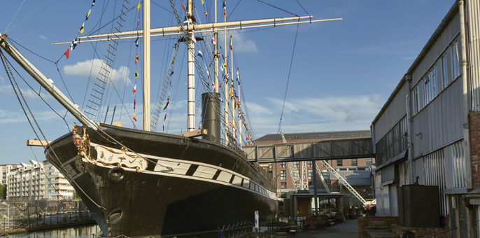 Unusual meeting spaces: Brunel's SS Great Britain
