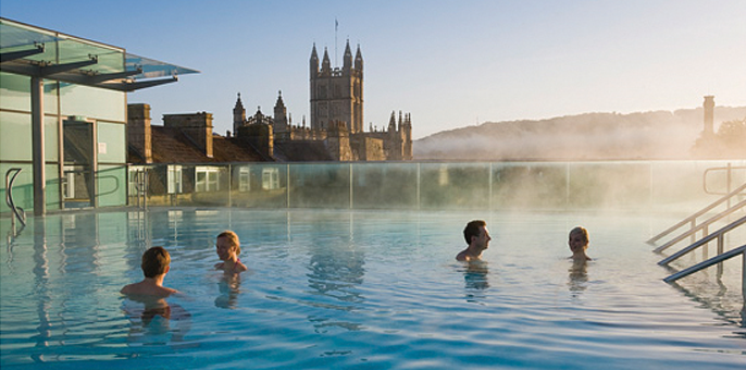 Unusual meeting spaces: Thermae Bath Spa