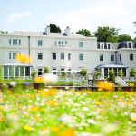 Summertime at Coworth Park exterior manor house